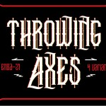 Throwing Axes Font