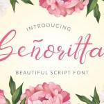 Senoritta Script Font