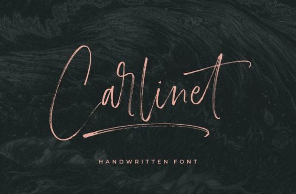 Carlinet Handwritten Font