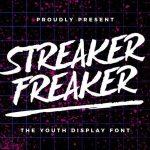 Streaker Freaker Font