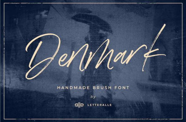 Denmark Handwritten Font