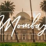 Mombay Brush Font