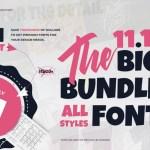 The 11.11 Bundle Font