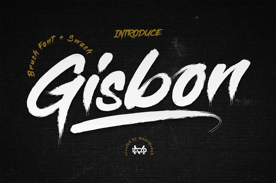 Gisbon-Font
