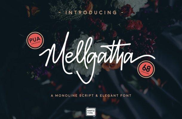 Mellgatha Handwritten Font