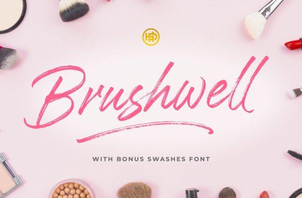 Brushwell Dry Brush Font