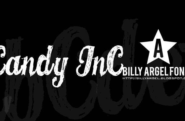 CANDY INC. Font