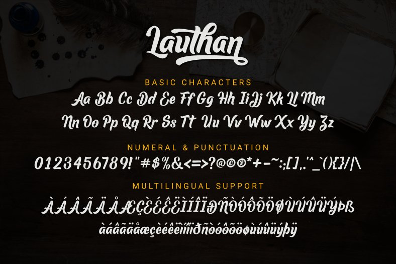 Lauthan-Font-3