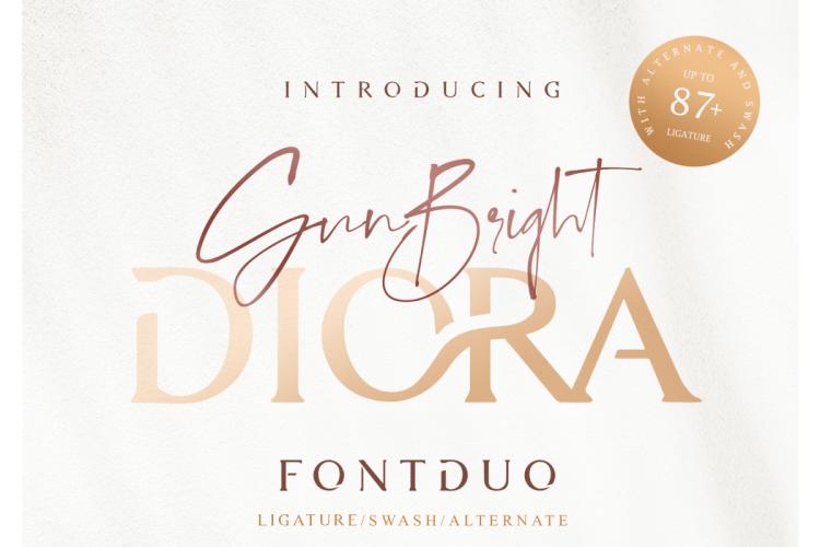 Diora-Sunbright-Font