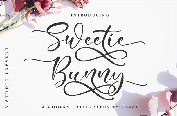 Sweetie Bunny Script Font