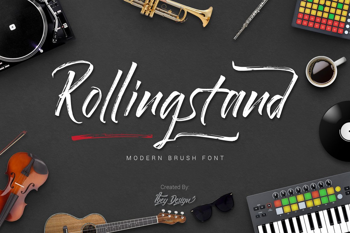 Rollingstand-Font