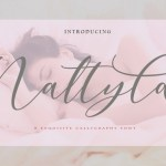 Nattyla Calligraphy Font