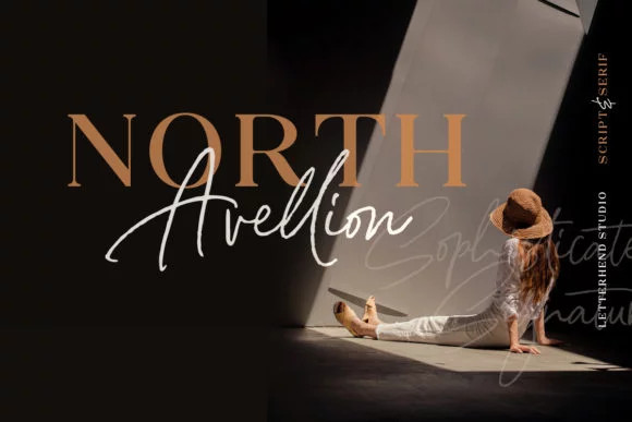 North Avellion Font Duo