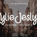 Kylie Jeslyn Handwritten Font