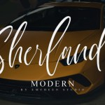 Sherland Script Font