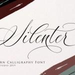 Silenter Calligraphy Font