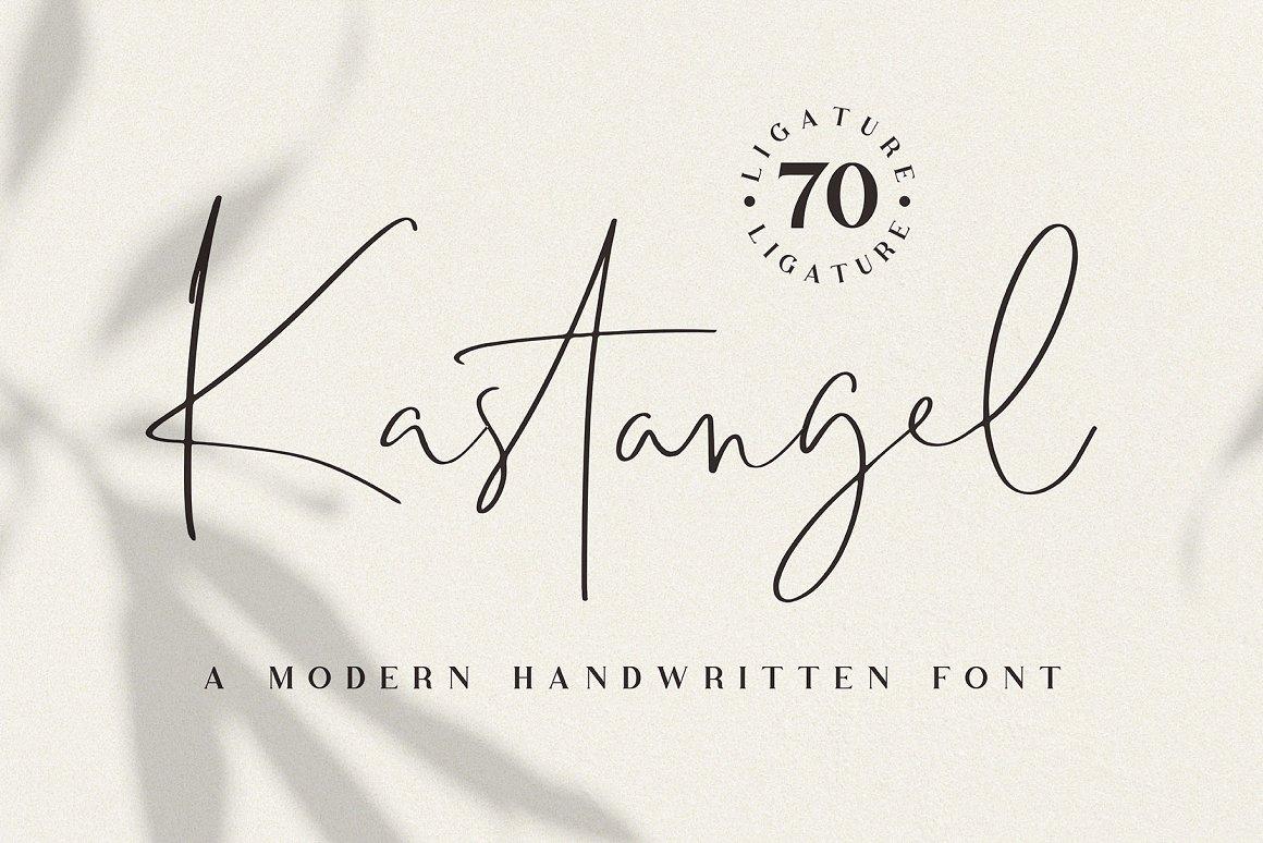 Kastangel-Font