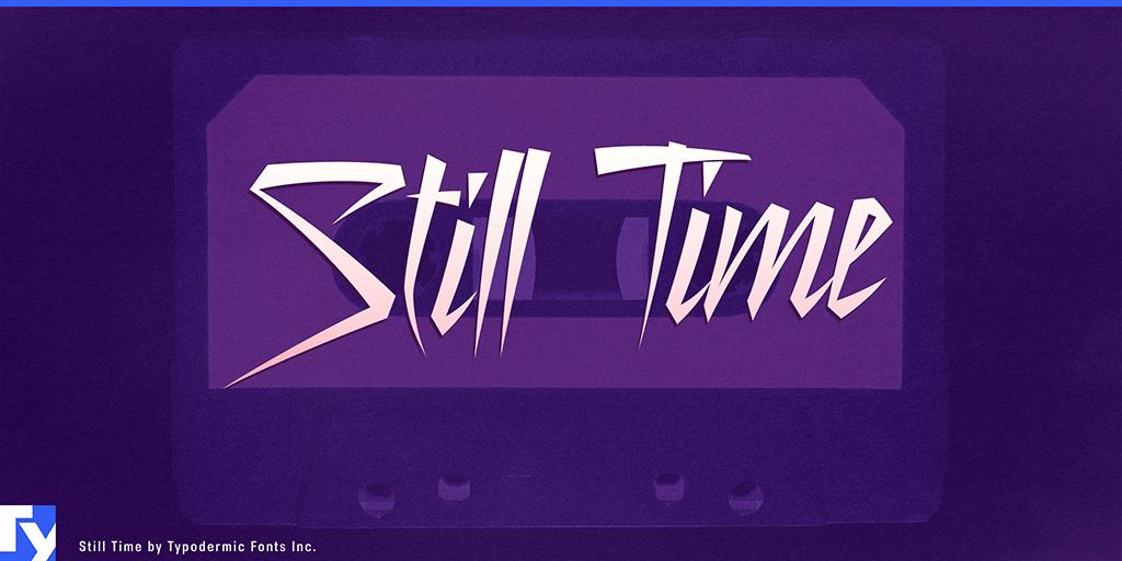 still-time-font