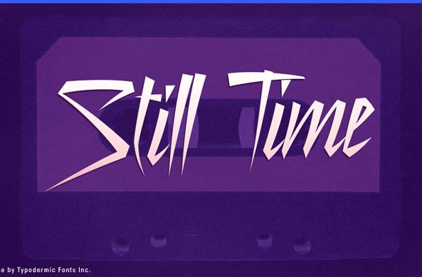 Still Time Font