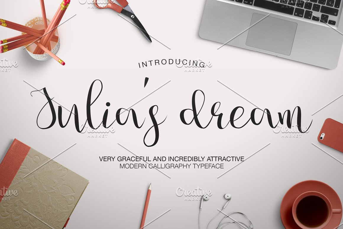 Julia's-Dream-Font