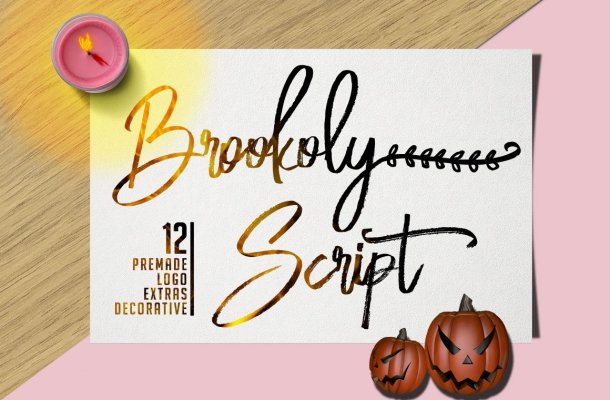 Bloomy Script Font