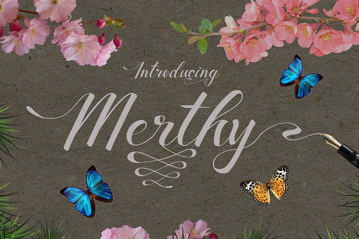 Merthy-Font