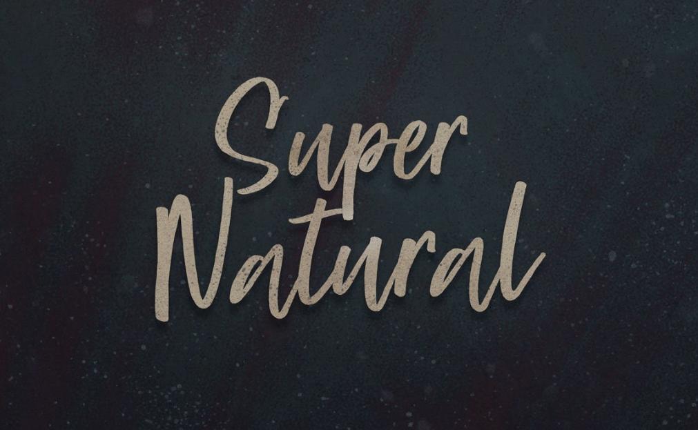 Super-Natural- Font