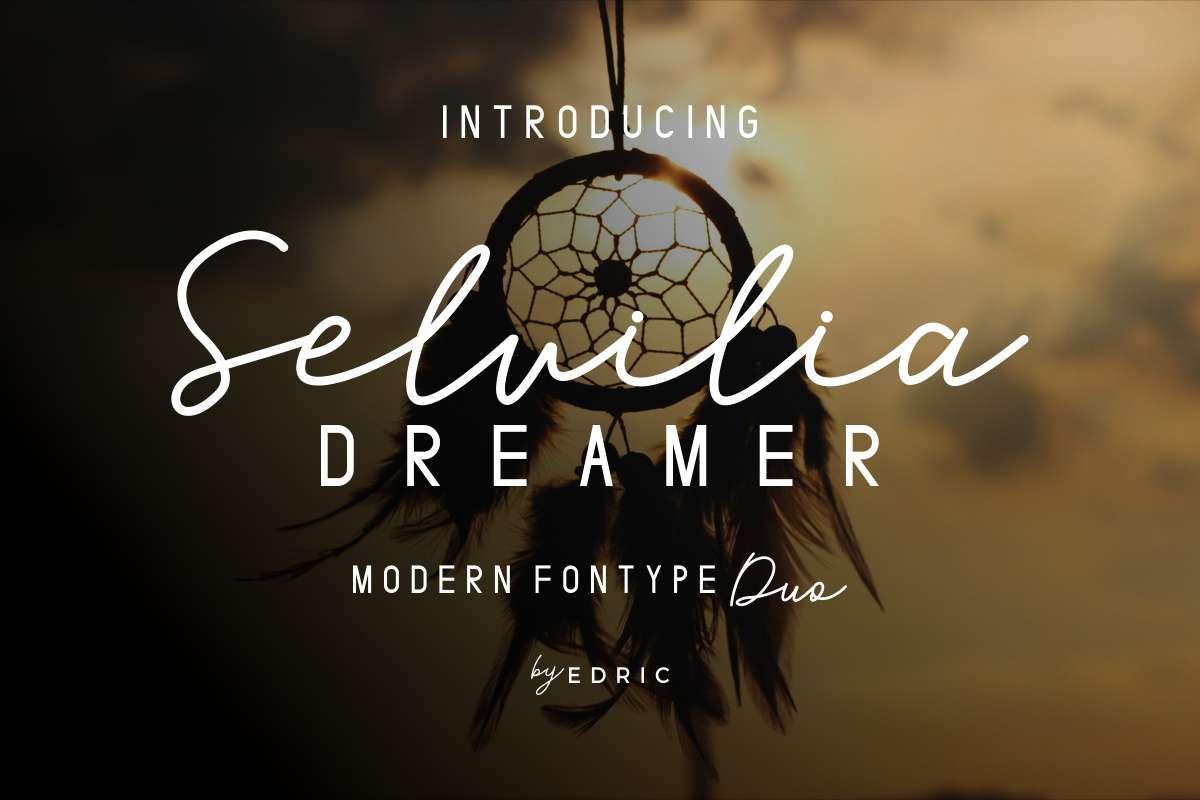 Selvilia-Dreamer-Font