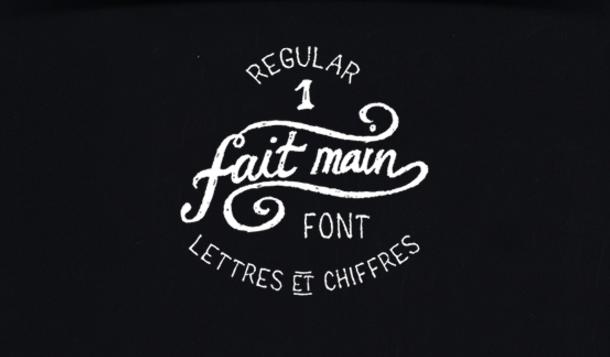Fait Main Font