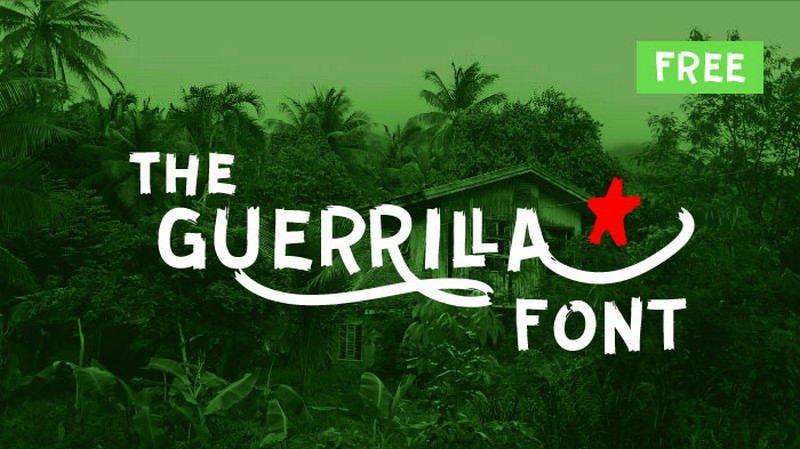 Guerrilla-Font