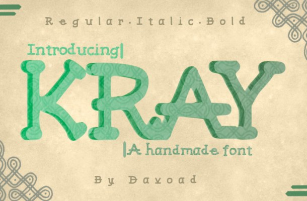 Kray Typeface