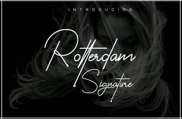 Rotterdam Handwritten Font
