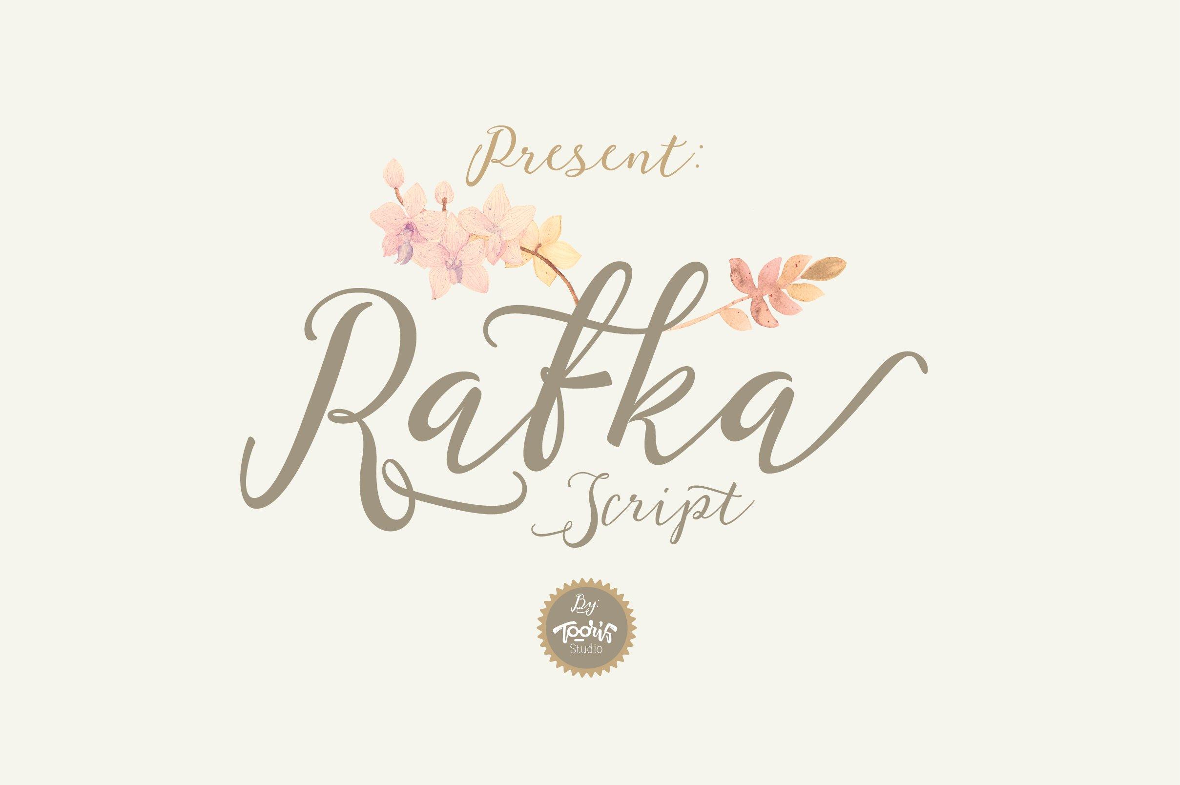 Rafka-Font