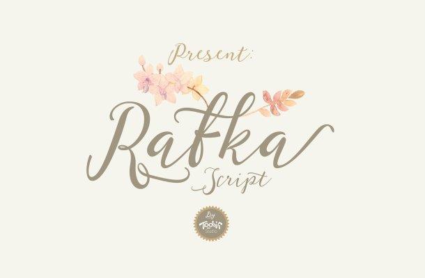 Rafka Script Font