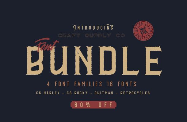 CS Font Bundle – Free Demo