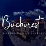 Bucharest Script Font