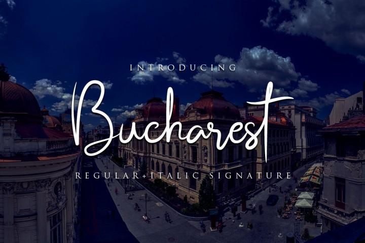 bucharest-script-font