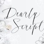 Dearly Script Font