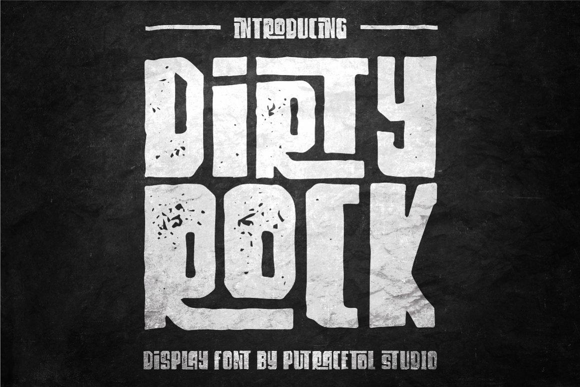 Dirty-Rock-Font