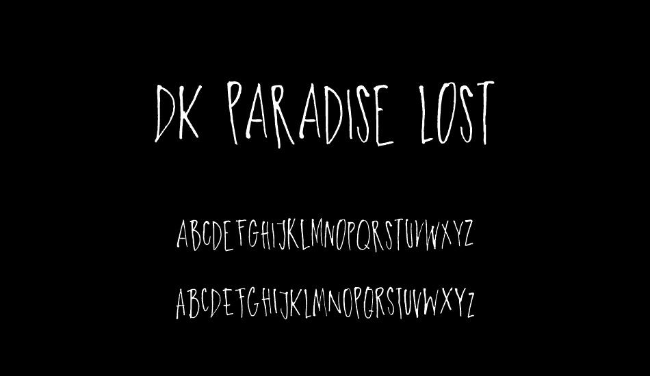 DK-Paradise-Lost-Font-3