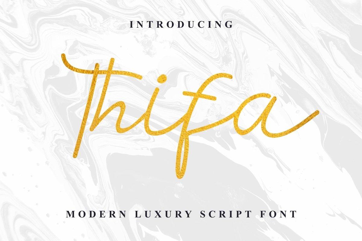 Thifa-Font