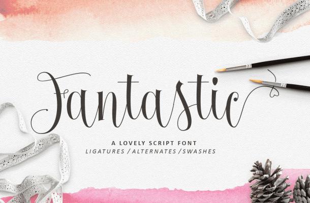 Fantastic Calligraphy Font