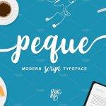 Peque Script Font
