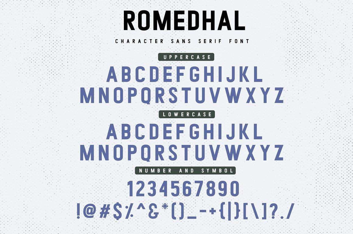Romedhal-Font-4