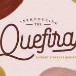 Quefira Script Font