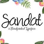 Sandat Script Font