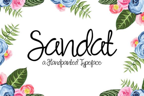 sandat-script-font