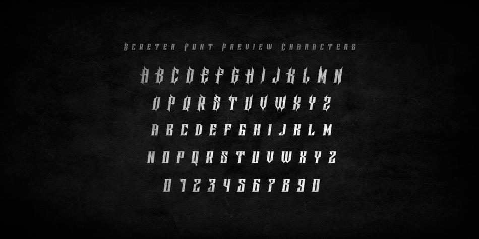 Screter-Font-3