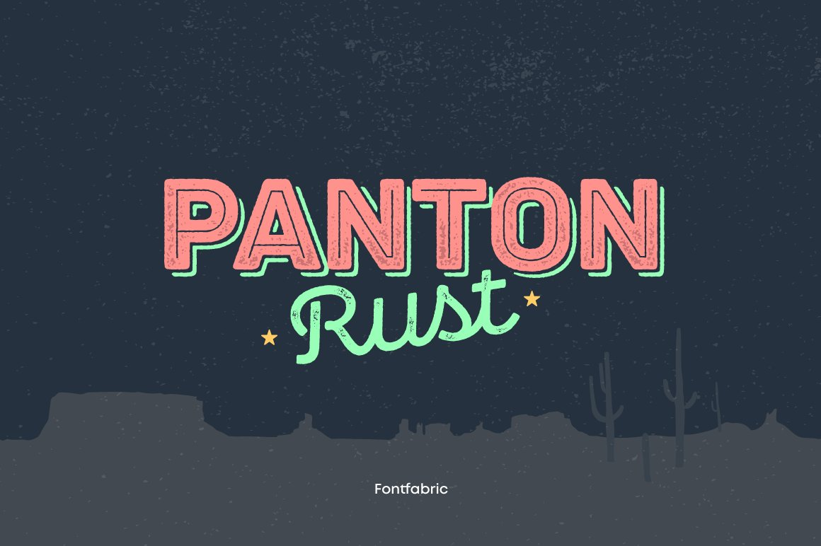Panton-Rust-Font