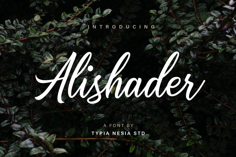 Alishader-Font